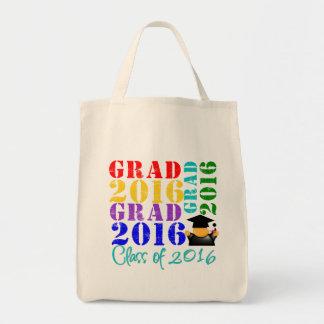 Clase del graduado de 2016 bolsa tela para la compra