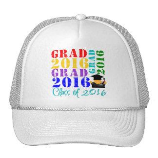 Clase del graduado de 2016 gorras