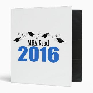 """Clase del graduado de MBA de 2016 casquillos y Carpeta 1"""""""