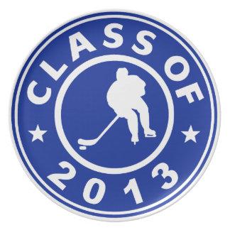 Clase del hockey 2013 platos