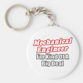 Clase del ingeniero industrial… de una gran cosa llavero redondo tipo pin