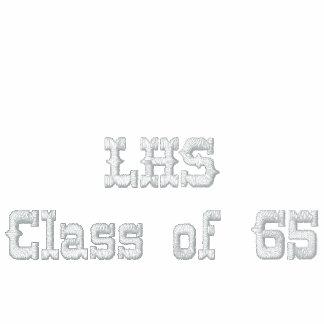 Clase del lado izquierdo de 1965 camiseta polo bordada