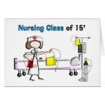 Clase del oficio de enfermera de 2015 felicitación