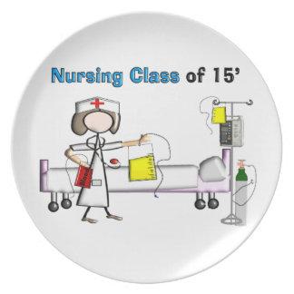 Clase del oficio de enfermera de 2015 plato de comida