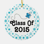 Clase del ornamento 2015 del navidad del regalo de ornamentos de reyes magos