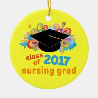 Clase del ornamento graduado 2017 del oficio de en ornaments para arbol de navidad