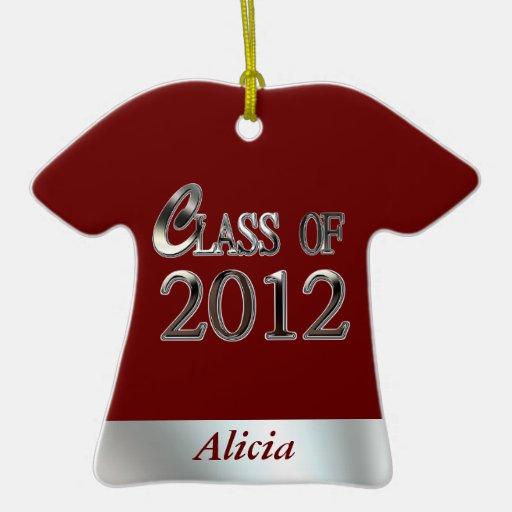 Clase del ornamento lindo 2012 de la camisa de la ornamentos de reyes magos