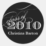 ¡Clase del personalizar 2010 de la etiqueta engoma