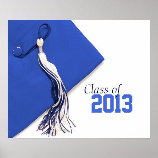 Clase del poster 2013 de la graduación
