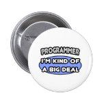Clase del programador… de una gran cosa pin