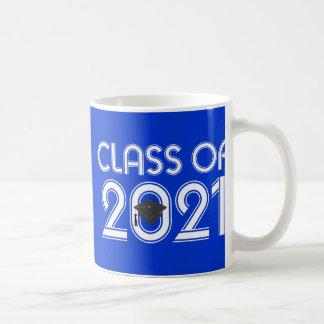 Clase del regalo 2021 de la graduación taza