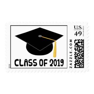 Clase del regalo de la graduación de 2019 estampillas