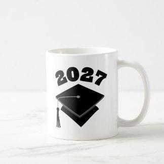 Clase del regalo de la graduación de 2027 taza de café