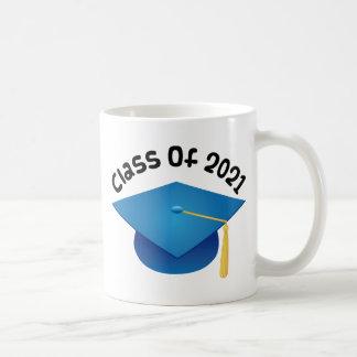 Clase del regalo graduado 2021 taza de café