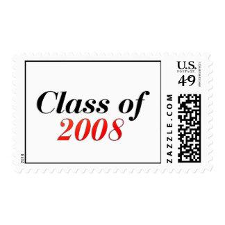 Clase del rojo 2008 sello