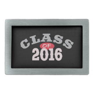 Clase del rojo 2016 hebilla de cinturón rectangular