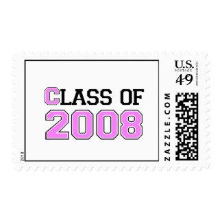 Clase del rosa 2008 franqueo
