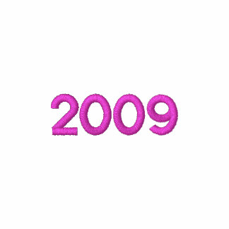 Clase del rosa 2009 de la sudadera con capucha