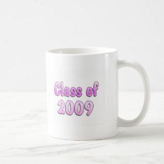 Clase del rosa 2009 taza