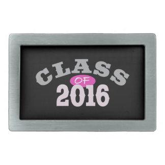 Clase del rosa 2016 hebillas de cinturon rectangulares