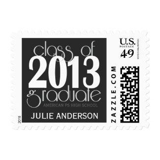 Clase del sello 2013 graduado de la graduación
