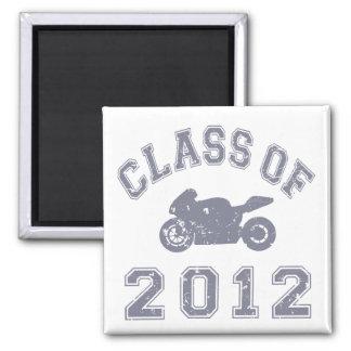 Clase del Superbike 2012 - gris 2 Imanes De Nevera