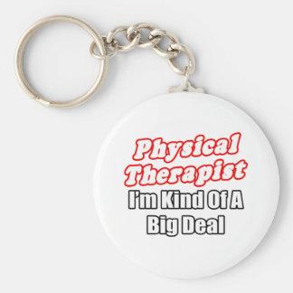 Clase del terapeuta físico… de una gran cosa llaveros personalizados