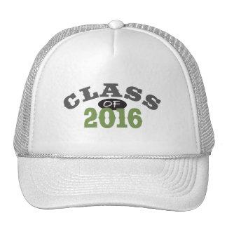 Clase del verde 2016 gorros bordados
