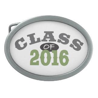 Clase del verde 2016 hebillas cinturon ovales