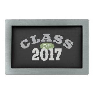 Clase del verde 2017 hebilla de cinturón rectangular