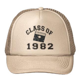 Clase del vintage de 1982 de informática gorra
