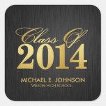 """Clase elegante del """"oro"""" de la graduación 2014 colcomania cuadrada"""