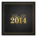 """Clase elegante del """"oro"""" de la invitación 2014 de"""
