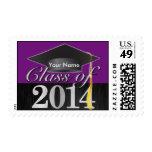 Clase elegante personalizada de la graduación 2014 sellos