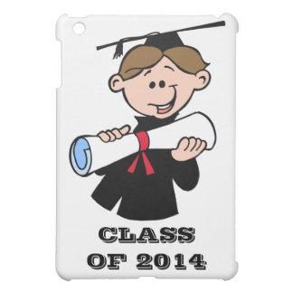 Clase feliz de la graduación del muchacho 2014 con