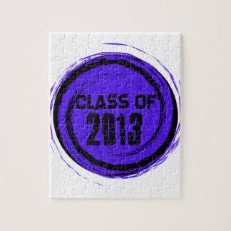 Clase fresca de la graduación 2013 rompecabeza