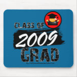 Clase fresca del graduado 2009 tapete de ratón