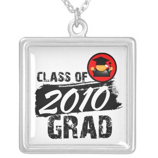 Clase fresca del graduado 2010 joyerias personalizadas