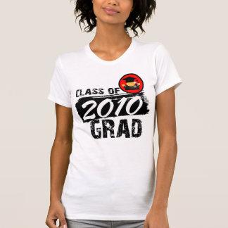 Clase fresca del graduado 2010 camiseta