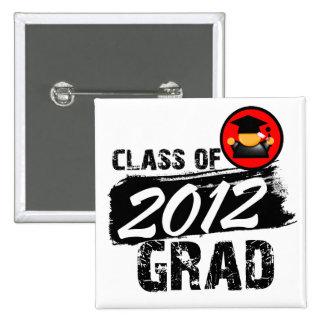 Clase fresca del graduado 2012 pins