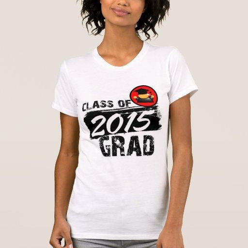 Clase fresca del graduado 2015 tee shirts