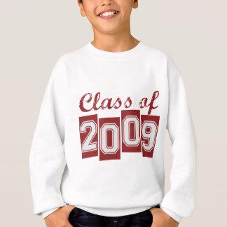 Clase graduada de 2009 sudadera