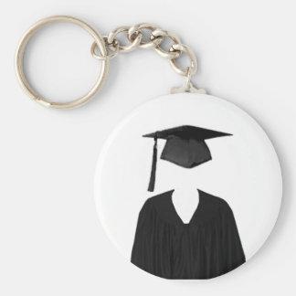 Clase graduada del casquillo y del vestido Templat Llavero