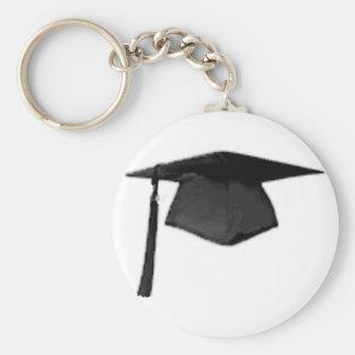 Clase graduada del casquillo y del vestido Templat Llaveros Personalizados