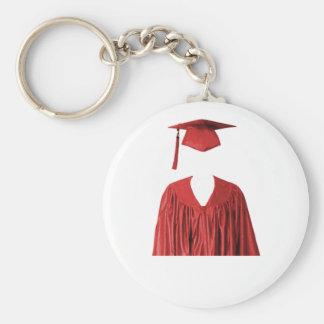 Clase graduada del casquillo y del vestido Templat Llaveros