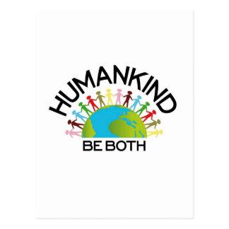 Clase humana tarjetas postales