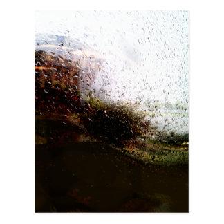 Clase lluviosa - de día tarjetas postales