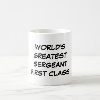 """""""Clase más grande del mundo taza del sargento la"""