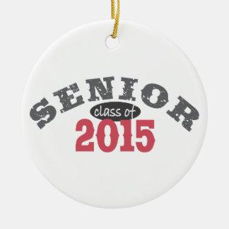 Clase mayor de 2015 adornos