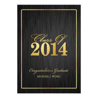 Clase moderna elegante del oro de la graduación 20